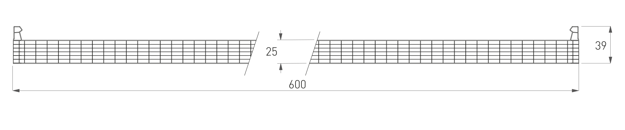 BDL 7W 25 mm