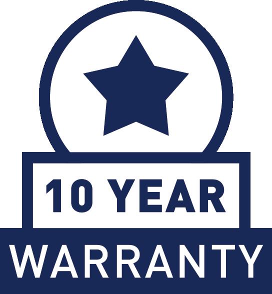 15 years Limited Warranty
